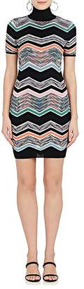 Missoni Women's Zigzag-Knit Wool-Blend Dress