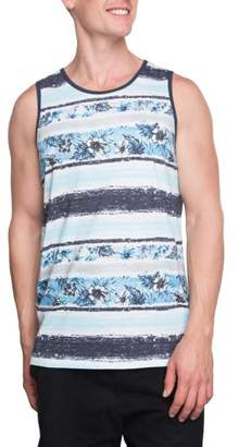 George Big Men's Painted Island Graphic Tank, Up to Size 3XL