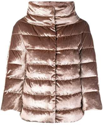 Herno funnel neck padded jacket
