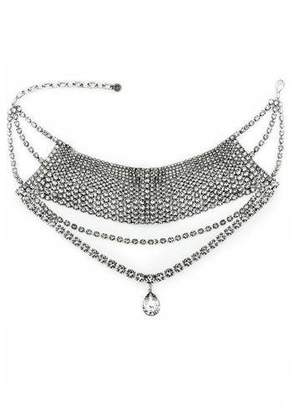 DYLANLEX Remi Crystal Choker Necklace