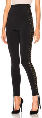 Alexandre Vauthier Lace Up Side Knit Pants