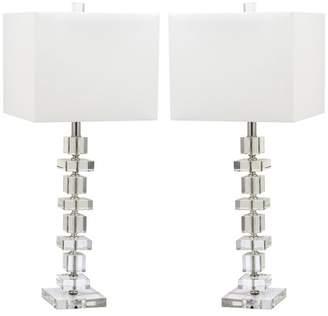 Safavieh Deco Crystal Table Lamp, Set of 2