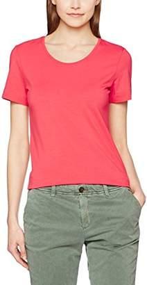 More & More Women's 71030045 Regular Fit Crew Neck Short Sleeve T - Shirt - Red - UK 12