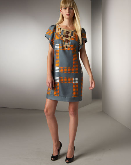 Phoebe Couture Patchwork Dress
