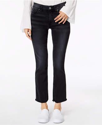STS Blue Frayed-Hem Kick-Flare Jeans