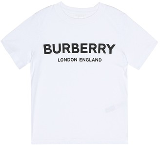 Burberry Printed cotton T-shirt