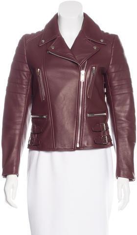 CelineCéline Leather Moto Jacket
