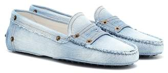 Tod's Gommino denim loafters