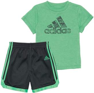 d0bf41bc adidas Toddler Boy Impact Graphic Tee & Shorts Set