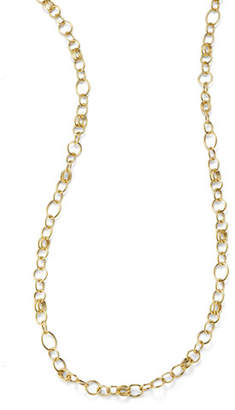 """Ippolita Glamazon 18k Gold Classic Link Long Chain Necklace, 33""""L"""