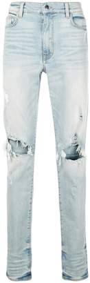Amiri low rise skinny jeans