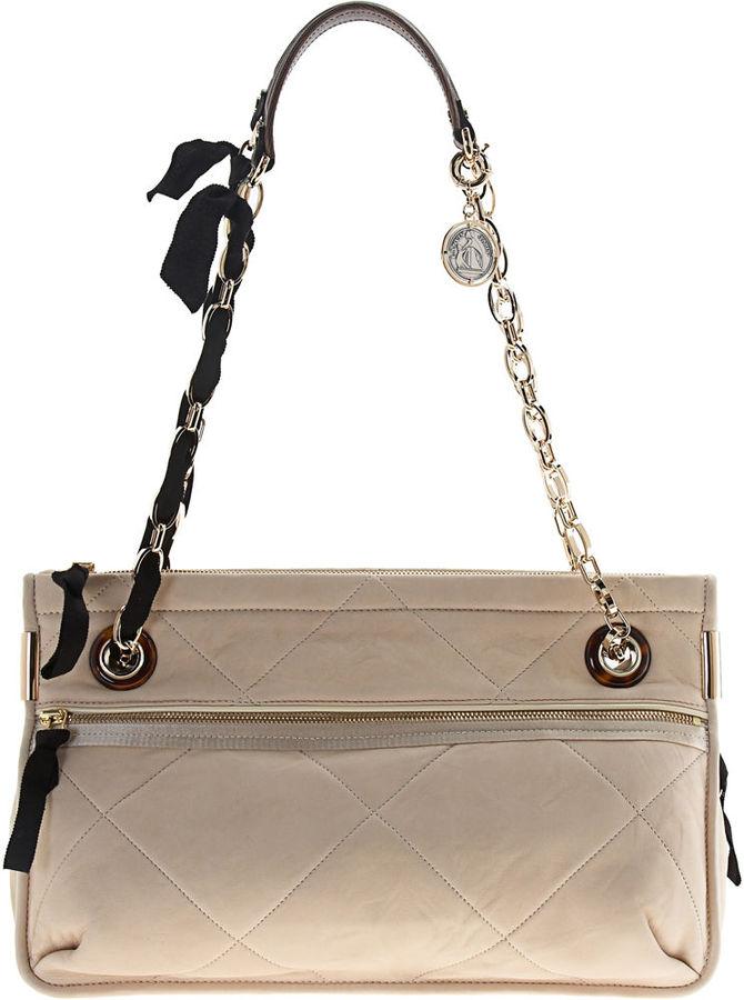 Lanvin Amalia MM Double Bag - Ecru Cream