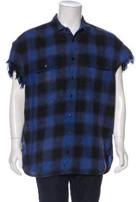 R 13 Oversize Cut-Off Shirt