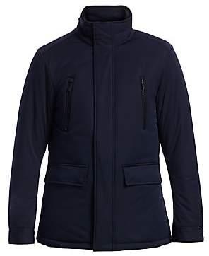 Emporio Armani Men's Padded Zipper Pocket Jacket