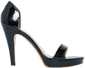 HUGO BOSS Black Patent leather Sandals