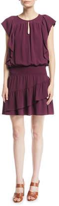 Ella Moss Medena Sleeveless Ruffled Dress