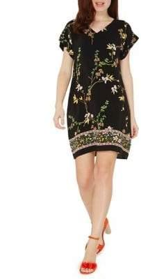 Dorothy Perkins Floral Bardot Shift Dress
