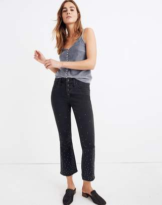 Madewell Petite Cali Demi-Boot Jeans: Scattered Metallic Dots Edition