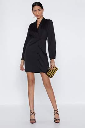 Nasty Gal Sleeves for Days Blazer Dress