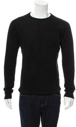 Wings + Horns Waffle Knit-Textured Sweater