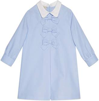 Gucci Children's cotton dress with bows