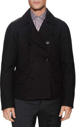 Dolce & Gabbana Double Breast Wool Peacoat