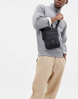 Timberland slim flight bag in black