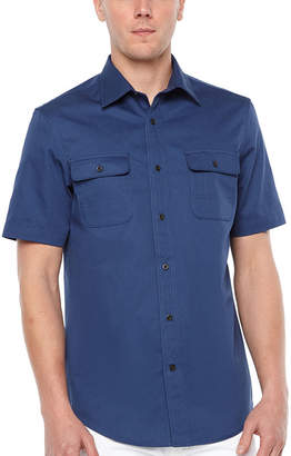 M·A·C Big Mac Short Sleeve Button-Front Shirt