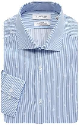 Calvin Klein Long Sleeve Slim Fit Button-Down Shirt
