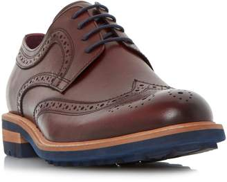 Dune MENS BRIXTON - Colour Pop Cleated Sole Brogue Shoe