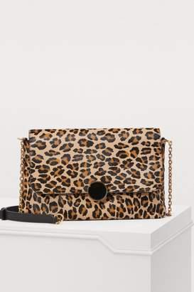 Vanessa Bruno Moon leopard-print shoulder bag