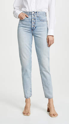 Joe's Jeans x We Wore What Danielle High Rise Straight Jeans