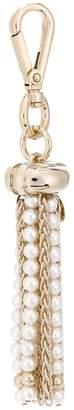 Lanvin embellished tassel keyring