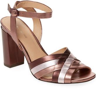 Pour La Victoire Hadleynl Metallic Sandal