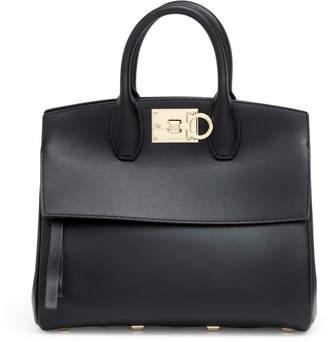 Salvatore Ferragamo The Studio M black leather bag 0a2826707cd08