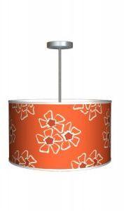 Bobby Berk Home Andrea Orange Pendant & Hanging Lamp