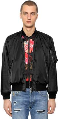 Alexander McQueen Nylon Bomber Jacket
