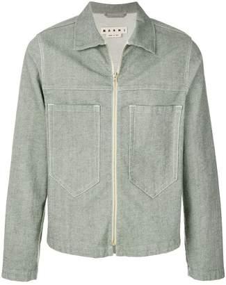 Marni zip front jacket
