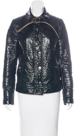 Dolce & GabbanaDolce & Gabbana Casual Vinyl Jacket