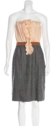 Dolce & Gabbana Strapless Mini Dress