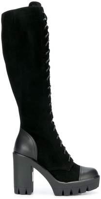 Giuseppe Zanotti mid-calf lace-up boots