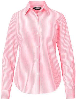 Ralph Lauren Lauren Cotton Button-Down Shirt $69.50 thestylecure.com