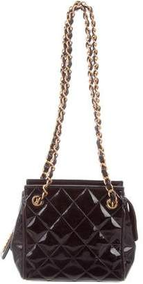 Chanel Quilted Patent Mini Bag