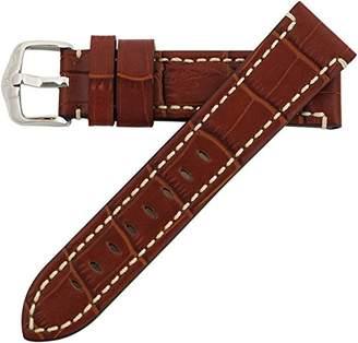 Hirsch 28mm Leather Watch Strap