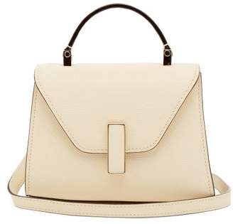Valextra Iside Micro Grained Leather Bag - Womens - Pergamena