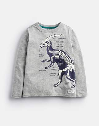 Joules Clothing Older raymond Long Sleeve Glow In The Dark Artwork Tee