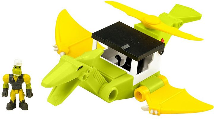 Educational Insights Dino Construction Company Cyclone the Pteranodon Medical Helicopter