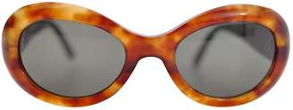 Bulgari Brown Plastic Sunglasses