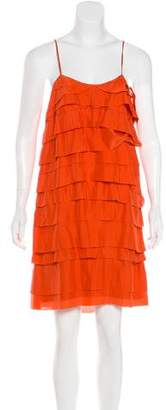 Stella McCartney Silk Tiered Dress