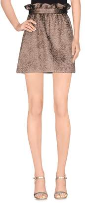 Gold Case Mini skirts